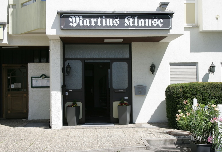 Martins Klause Airport Messe Hotel, Leinfelden-Echterdingen, Lối vào khách sạn