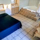 Superior-Zimmer, 1King-Bett, Whirlpool - Badezimmer
