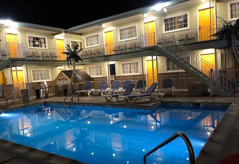 Sunrise Inn, Γουάιλντγουντ, Εξωτερική πισίνα