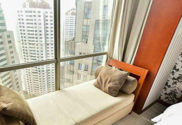 3rd-degree Seascape Apartment Hotel, Qingdao, Kamar Twin Superior, Area Keluarga