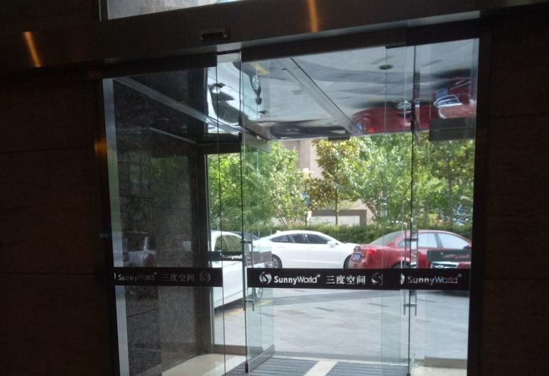 3rd-degree Seascape Apartment Hotel, Qingdao, Inngangsparti