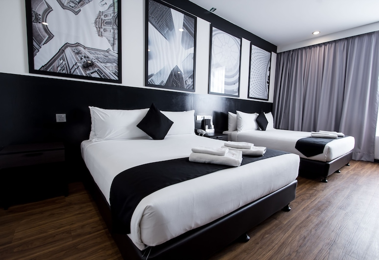 Bloommaze Boutique Hotel, Puchong, Suite, Zimmer