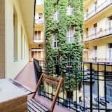 Apartment, 1 Bedroom, Charming at Oktogon/Andrassy Av.,1061 Budapest, Liszt Ferenc ter 5. - バルコニー