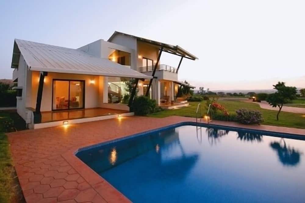奢華別墅, 3 間臥室, 私人泳池, 湖景 - 室外游泳池