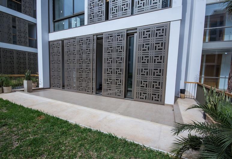 Marina Rabat Suites & Apartments, Sale, Lejlighed - 2 soveværelser - stueetage, Terrasse/patio