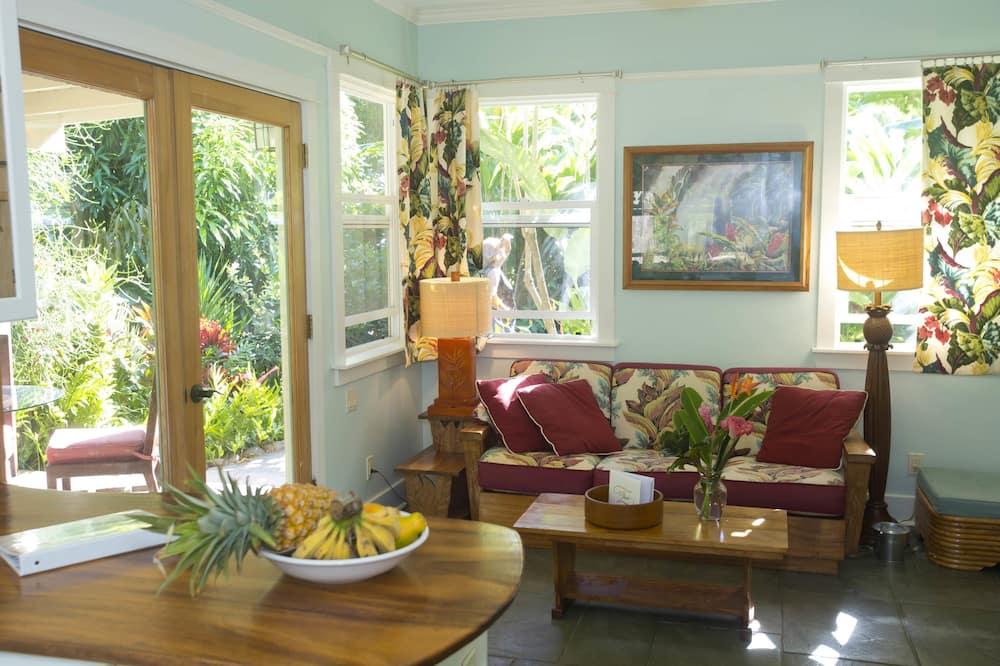 Cottage Classic, bagno privato - Area soggiorno