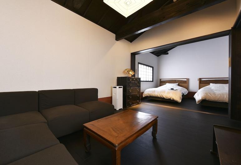 شيباشي أومياتشو, Kyoto, منزل تقليدي (Whole Rent Town House), غرفة معيشة