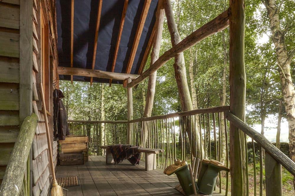 בית על עץ, נוף לעמק - מרפסת/פטיו