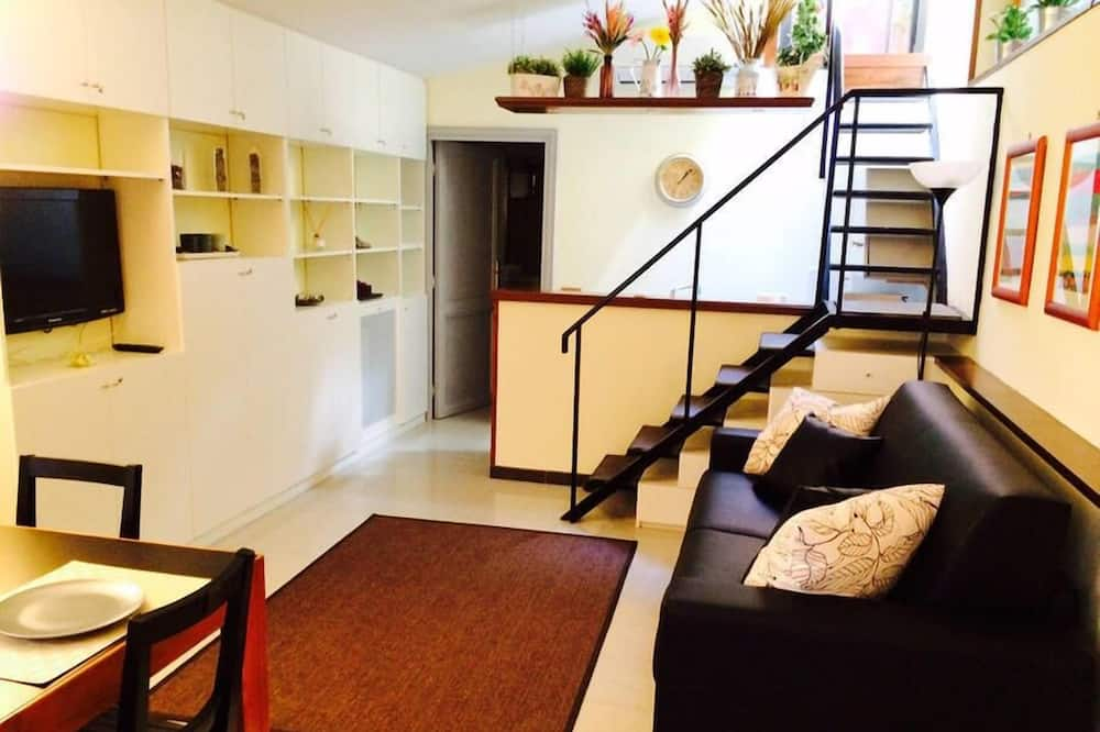 Appartement, 1 slaapkamer (Colosseo 3 - Via del Boschetto 88) - Woonruimte