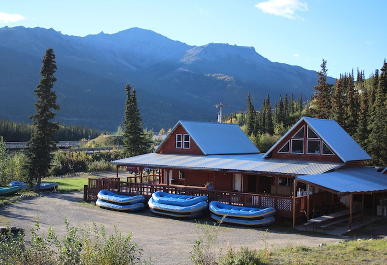 Cabins at Denali, Denali Nationalpark, Fassade der Unterkunft