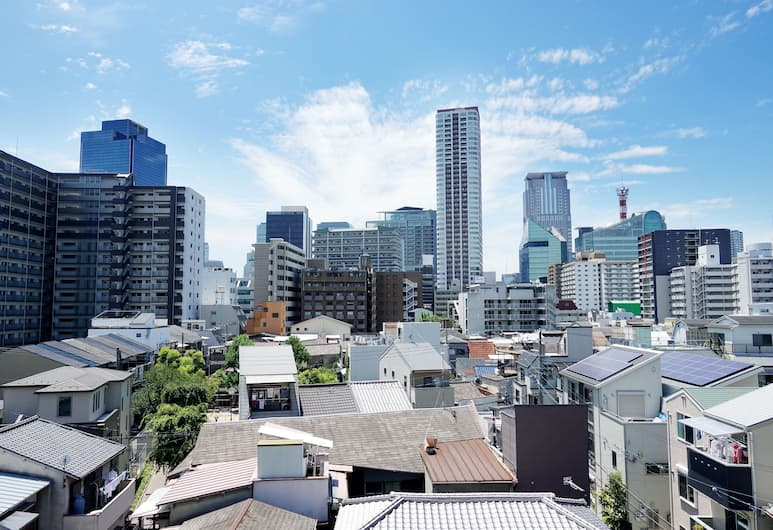 中崎比里爾飯店, 大阪, 飯店景觀