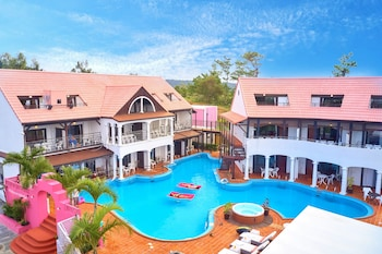 恩納沖繩泳池渡假村的相片