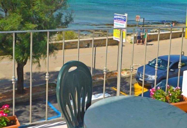 Le Sorgenti Camere & Appartamenti, Morciano di Leuca, Habitación, balcón, vista al mar, Balcón
