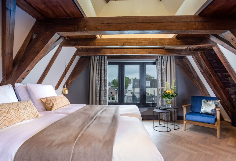 The Hendrick's Hotel, Amsterdam, Deluxe Double Room, 1 King Bed, City View, Guest Room View