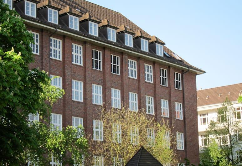 Apartment040, Hamburg, Fassade der Unterkunft