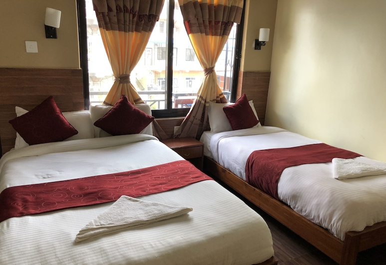 Hotel Golden Holiday, Pokhara, Family Quadruple Room, Guest Room