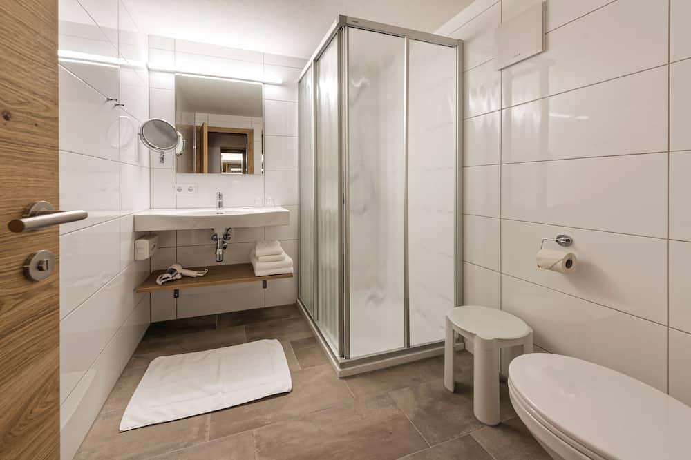 Comfort-dobbeltværelse - 1 queensize-seng - Badeværelse