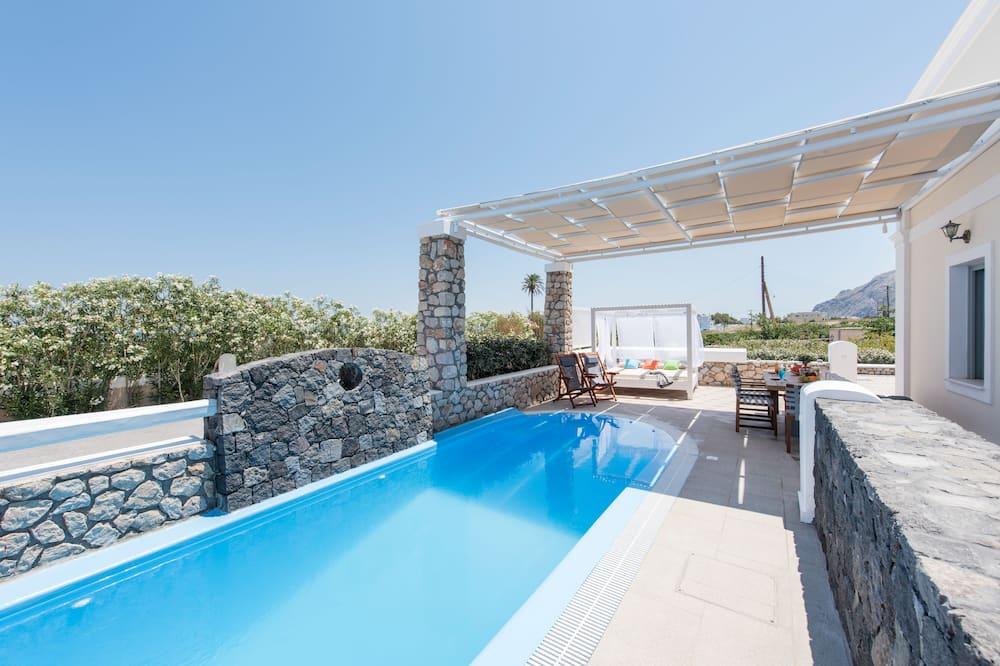 Villa, 2 Bedrooms, Private Pool (Thirasia) - Outdoor Pool