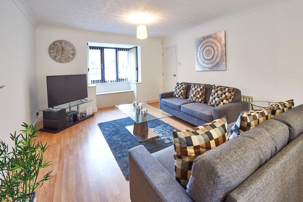 Dom typu Executive, 6 spální, výhľad na záhradu - Obývačka