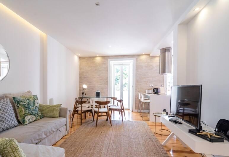 Akicity Lisboa Pearl, Lisbon, Apartment, 3 Bedrooms, Balcony, Living Room