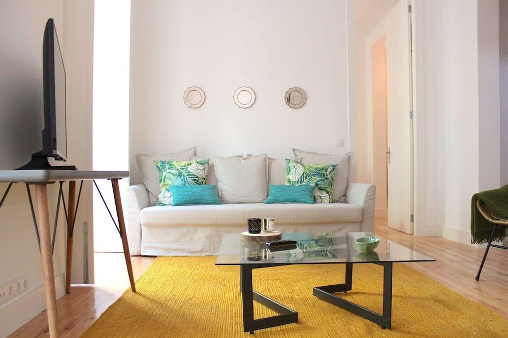 Apart Daire, 2 Yatak Odası - Oturma Odası