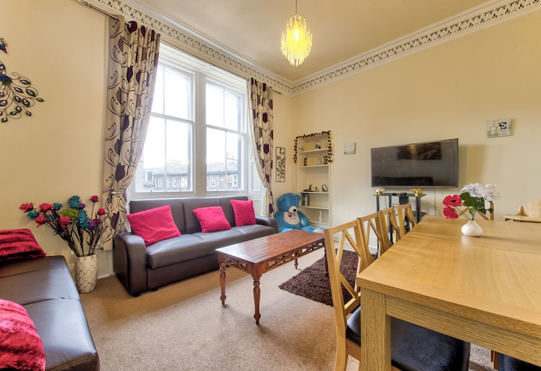 Syozant Morrison Central ApartHotel, Edinburgh, Living Area