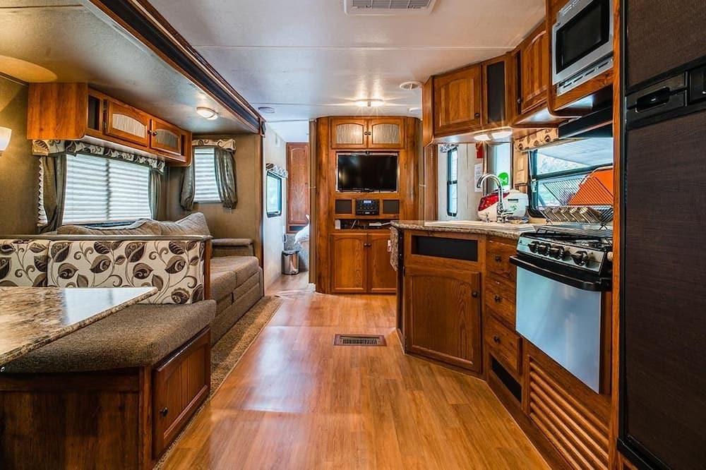 Deluxe Caravan - Powierzchnia mieszkalna