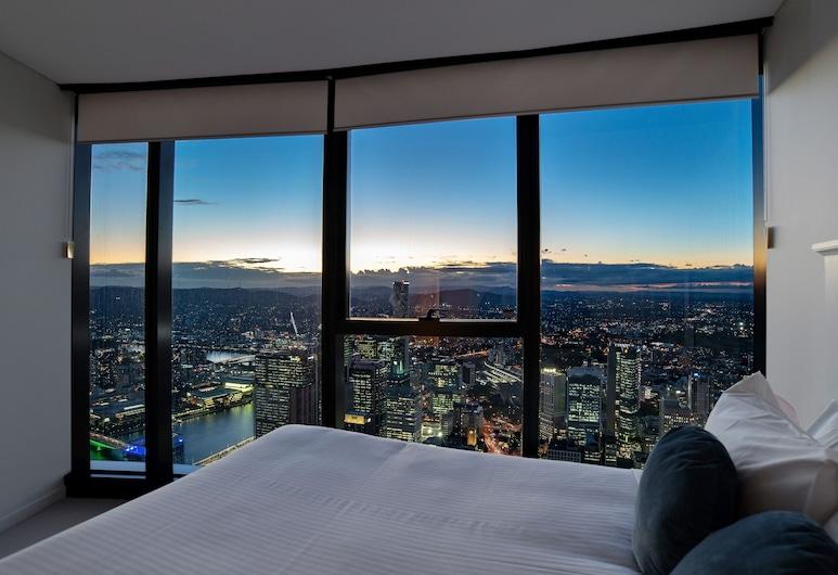 어라이즈 브리즈번 스카이타워, 브리즈번, 아파트, 침실 3개, 욕실 2개, 객실
