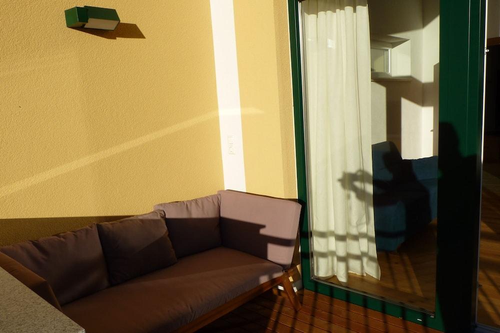 Apartamento Superior, 2 Quartos, Sauna, Vista Lago - Varanda