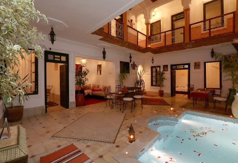 萊亞德依維沙酒店, 馬拉喀什, 餐廳