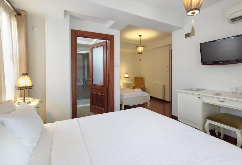 弗拉伊艾維爾精品酒店, 艾伐利克, 家庭三人房, 客房