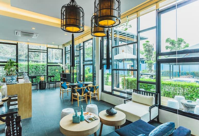빌라 인 방타오 인 윙스 - 홀 46, Choeng Thale, 빌라, 침실 2개, 거실 공간