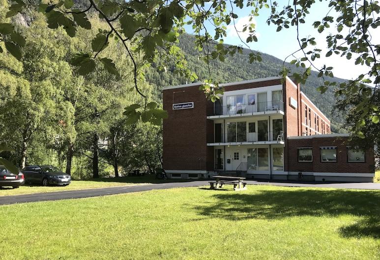 Rjukan Gjestehus, Tinn, Mặt tiền khách sạn
