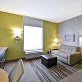開放式套房, 1 張特大雙人床, 非吸煙房 - 客廳