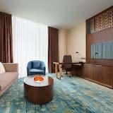 Habitación Deluxe, 1 cama de matrimonio grande (Expo View) - Zona de estar