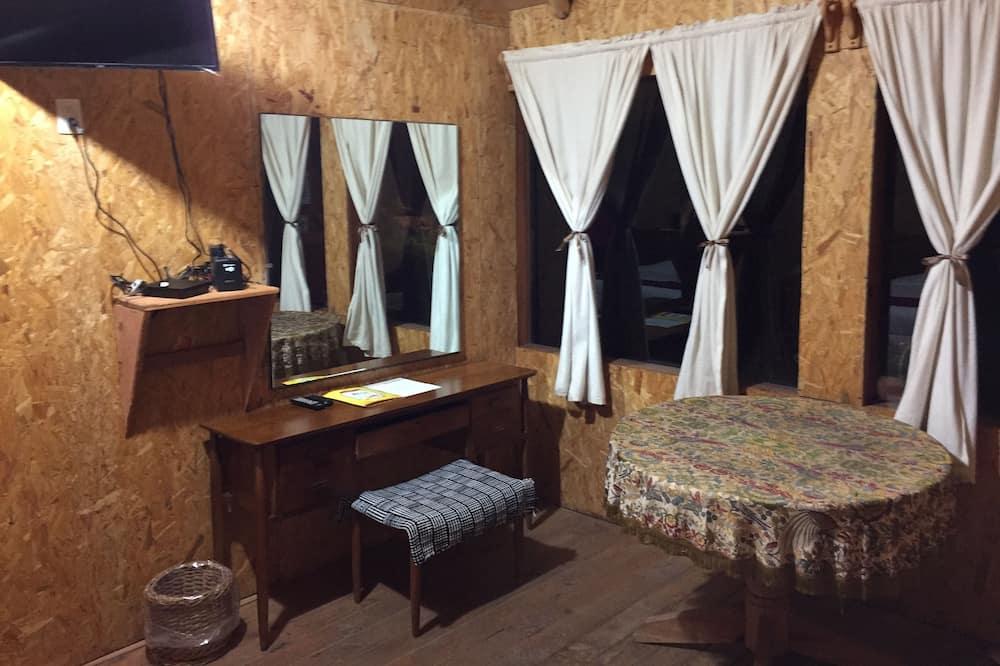 Chata typu Exclusive, 1 ložnice - Obývací prostor