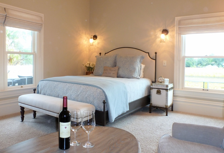 Inn at Salvestrin, St. Helena, Double Room, Ensuite, Vineyard View (Grayson Room), Guest Room