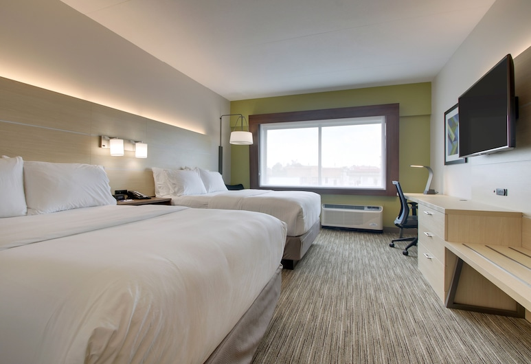 Holiday Inn Express and Suites-Elizabethtown North, Elizabethtown, Szoba, 2 queen (nagyméretű) franciaágy, mozgássérültek számára is hozzáférhető (Hearing), Vendégszoba