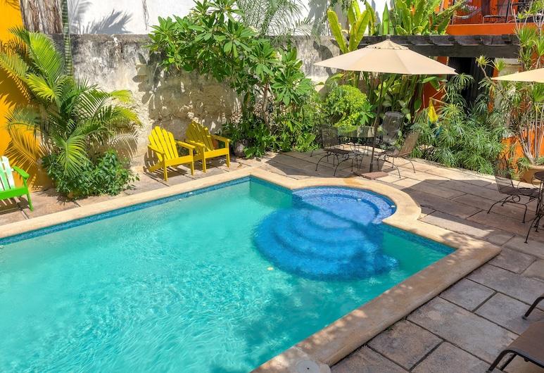 Hotel Luz en Yucatan, Mérida, Εξωτερική πισίνα