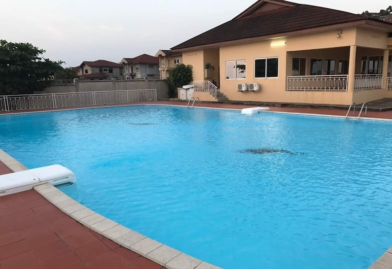 The Villa 9 at Seaview Estate, Freetown, Outdoor Pool