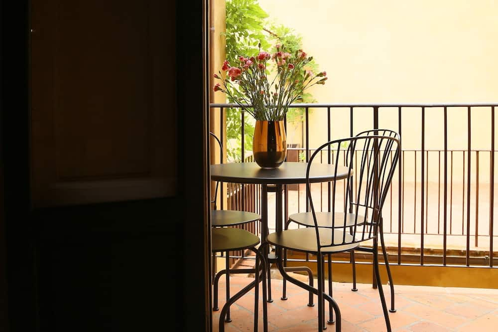 Külaliskorter, 1 magamistoaga, rõduga (Belvedere) - Rõdu