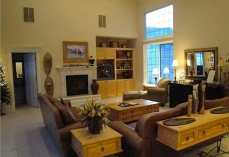 Hummingbird Springs Luxury Home, Midway, Luxusní domek, 5 ložnic, Obývací pokoj