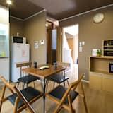 Ferienhaus, 1 Schlafzimmer - Essbereich im Zimmer