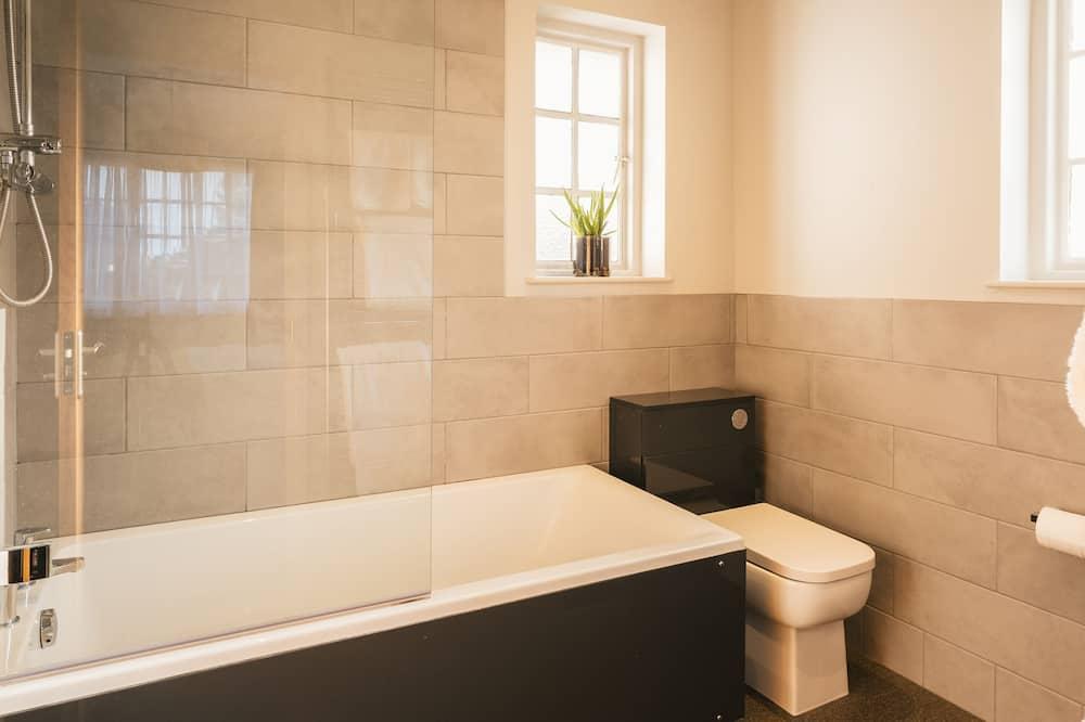 Deluxe-Doppelzimmer, mit Bad - Badezimmer