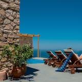 Családi villa, 2 hálószobával, privát medence, kilátással a tengerre - Parti/óceáni kilátás
