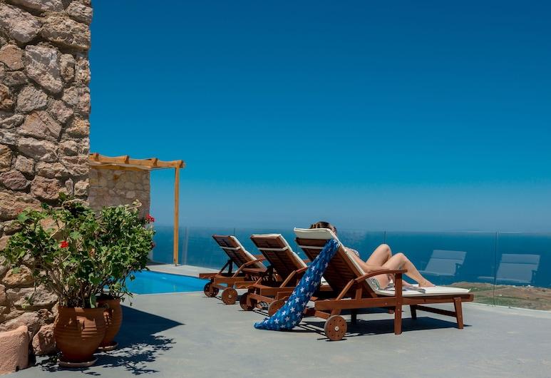 Dream Villa, Santorini, Family Villa, 2 Bedrooms, Private Pool, Sea View, Beach/Ocean View