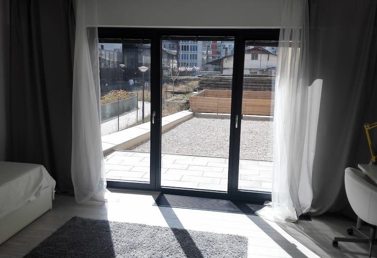 Trinity Residence, Praga, Appartamento familiare, 2 camere da letto, vista cortile, Terrazza/Patio