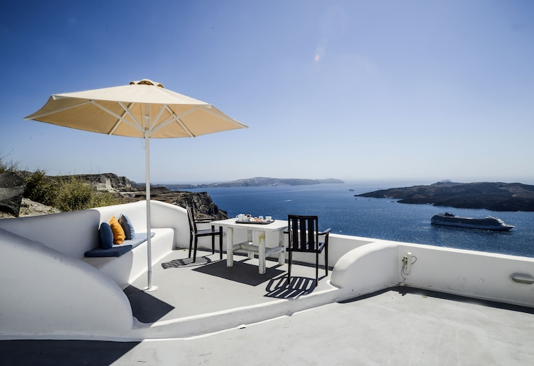 The Last Sunbeam - Adults Only, Santorini, Terraço/Pátio Interior