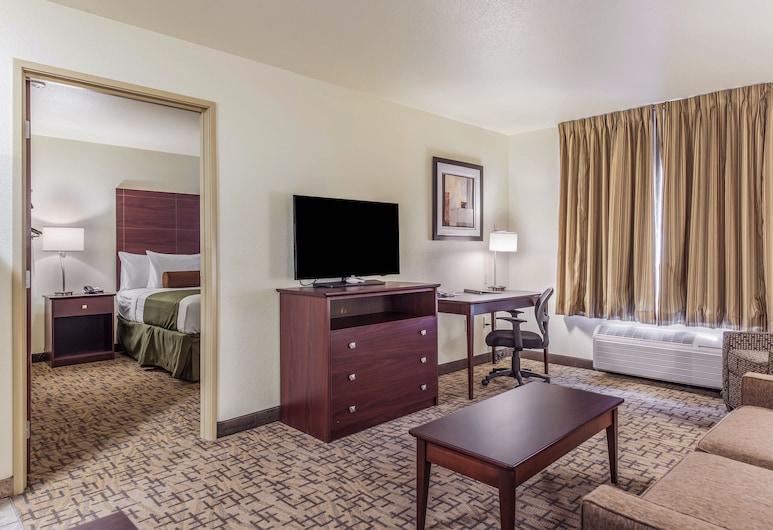 Cobblestone Hotel & Suites - Gering/Scottsbluff, Gering, Suite, 1 letto king con divano letto, accessibile ai disabili, non fumatori, Camera