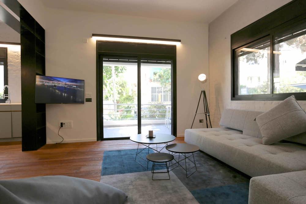 Design Apart Daire, 2 Yatak Odası, Balkon - Oturma Alanı